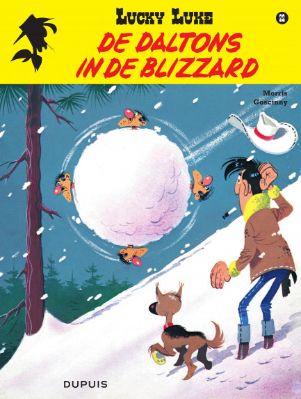 Lucky Luke De Daltons in de Blizzard