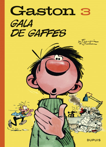 Gaston (Edition 2018) Gaston (Edition 2018) - tome 3 - Gala de gaffes (Edition 2018)