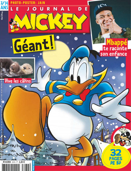 Le Journal de Mickey Le Journal de Mickey N° 3474