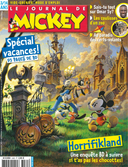 Le Journal de Mickey Le Journal de Mickey N° 3485-3486