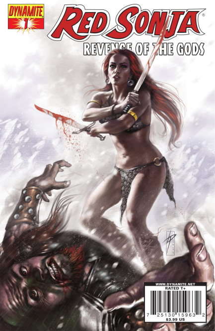 Red Sonja Red Sonja: Revenge of the Gods #1