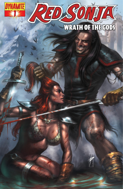 Red Sonja Red Sonja: Wrath of the Gods Vol. 1 #1