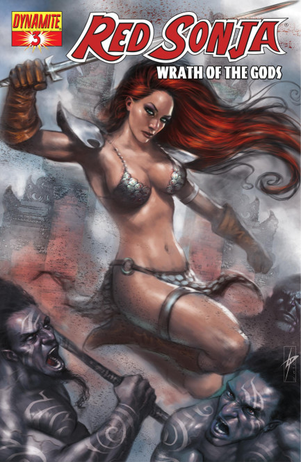 Red Sonja Red Sonja: Wrath of the Gods Vol. 1 #3