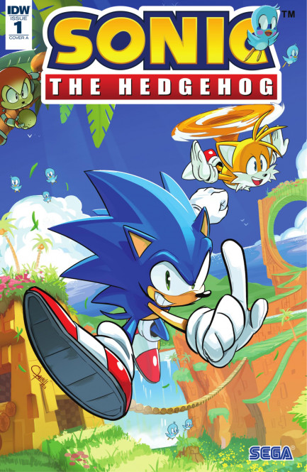Sonic the Hedgehog Sonic the Hedgehog #1
