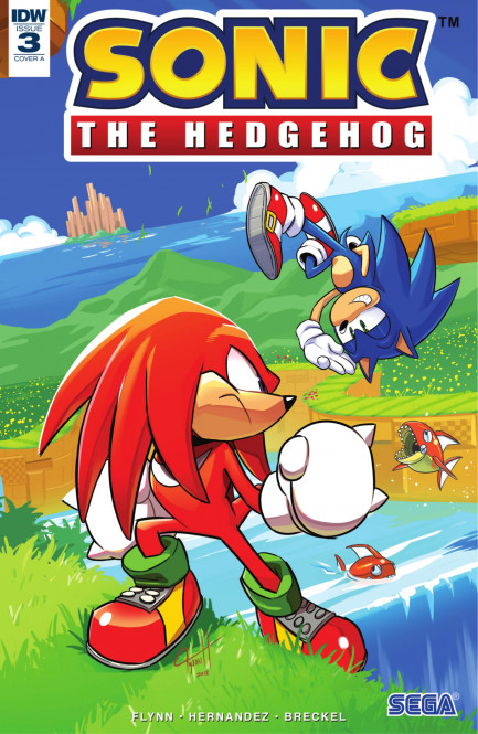 Sonic the Hedgehog Sonic the Hedgehog #3