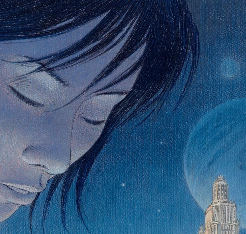 Revoir Paris BD science-fiction en solde