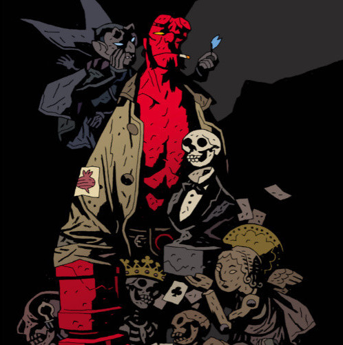 Hellboy - 25 ans d'illustrations - Mike Mignola - Delcourt - 2021
