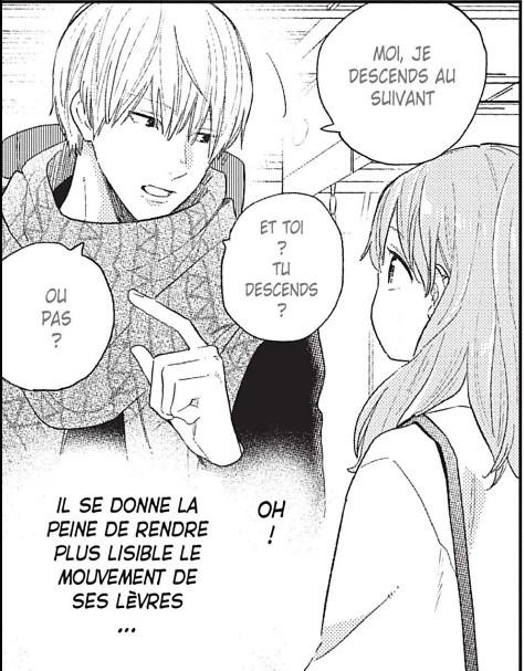 A sign of affection Suu Morishita  Rosalys surdité handicap shojo