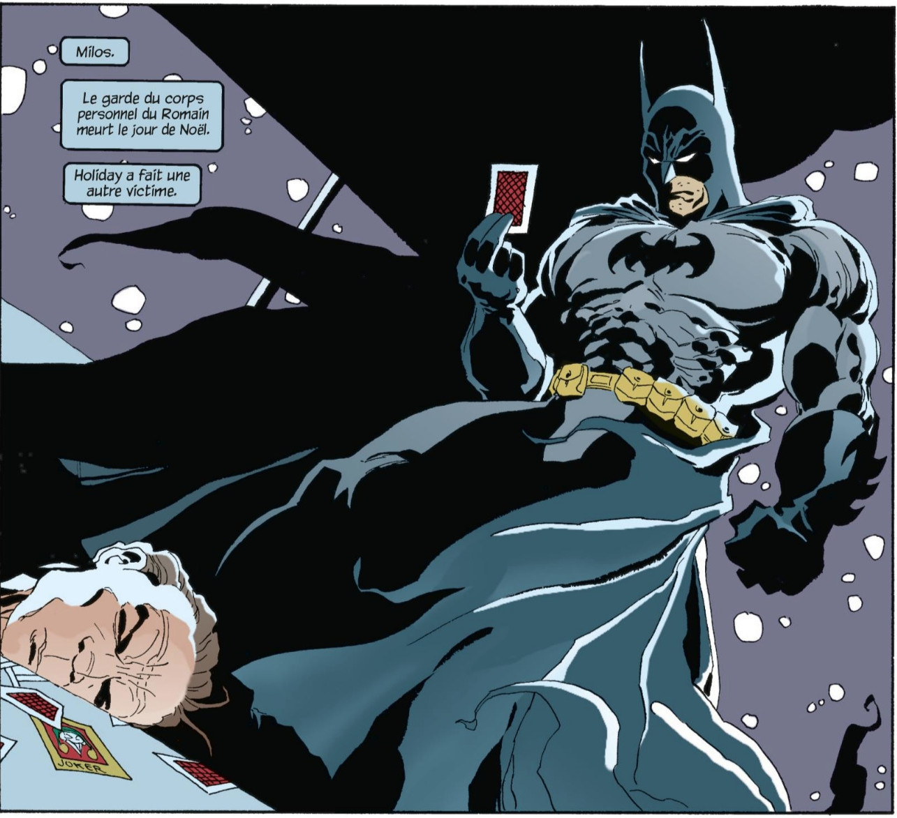Batman - Un Long Halloween Double-Face. Jeph Loeb & Tim Sale